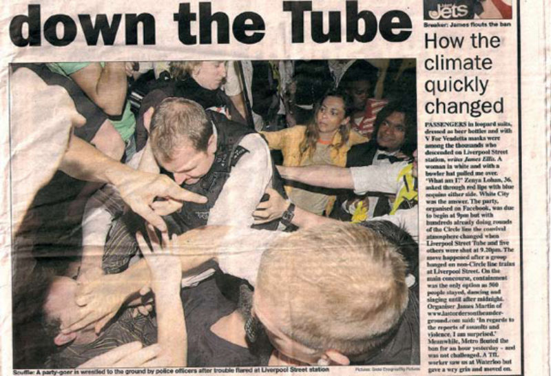 clipping from Metro, 2 June 2008