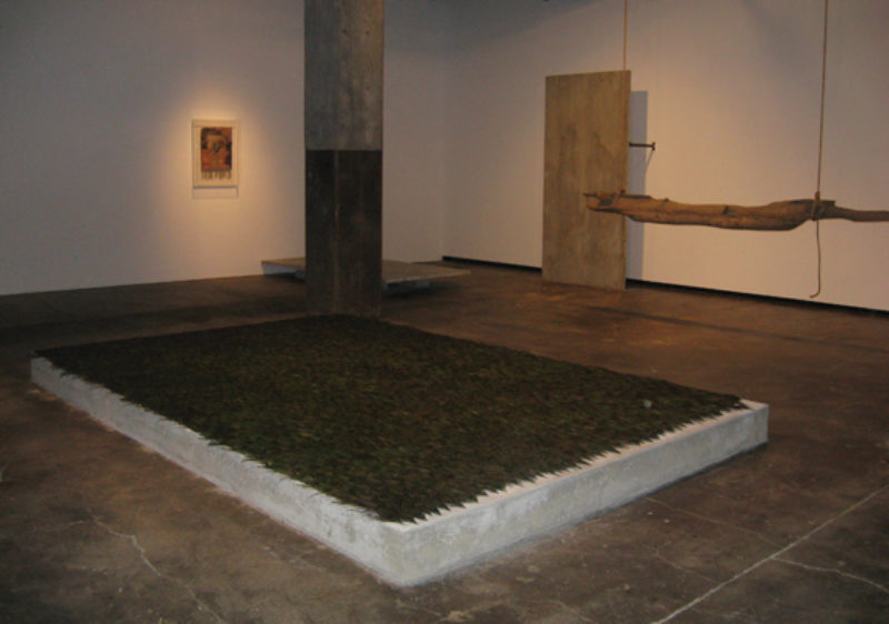 Carol Bove, 'The Middle Pillar', 2007, mixed media installation