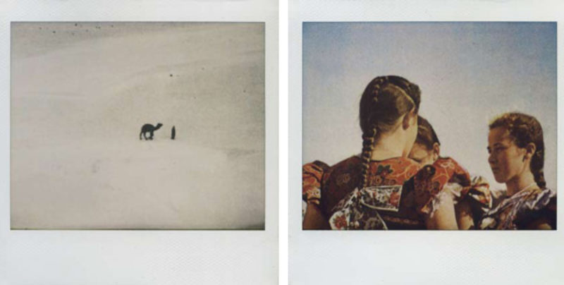 'Untitled #63' and 'Untitled #69', polaroid, 2009