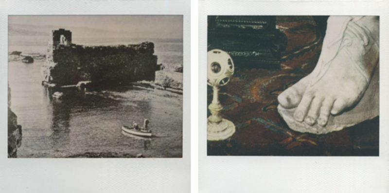'Untitled #64' and 'Untitled #72', polaroid, 2009