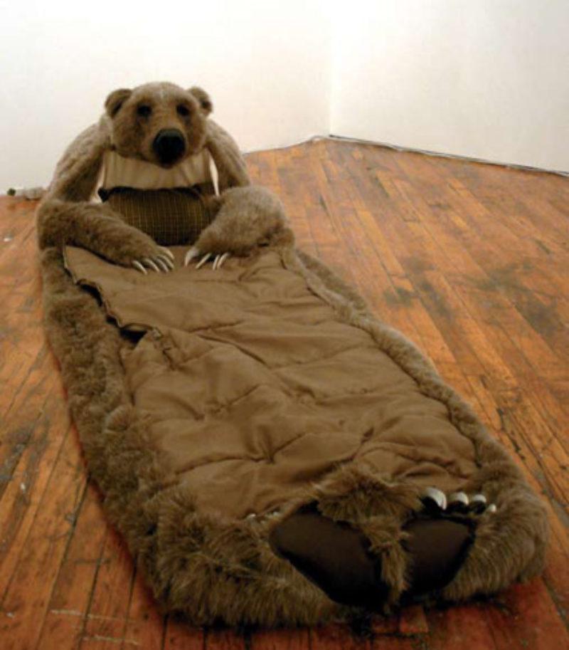 Lisa Dillin, 'Bear Hug Sleeping Unit', 2007
