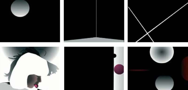 'Identity Slice', 2007, flash animation