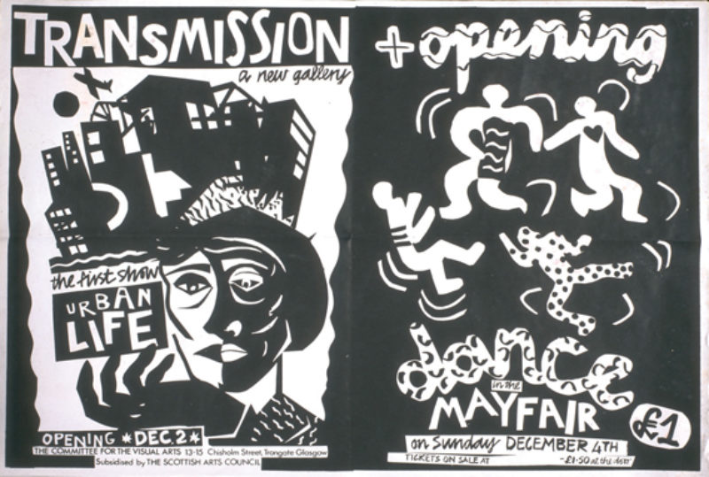 Posters for Urban Life and after party, December 1983