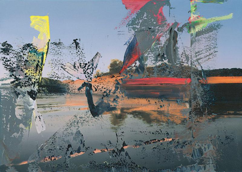 'Venedig' (Venice), 1986, oil on canvas