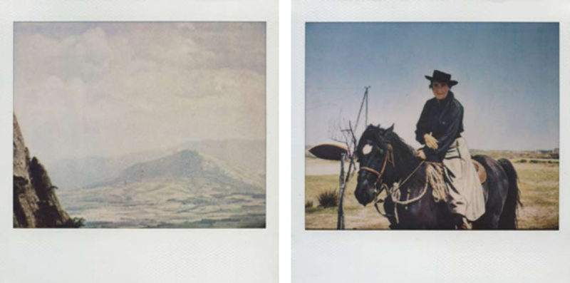 'Untitled #70' and 'Untitled #73', polaroid, 2009