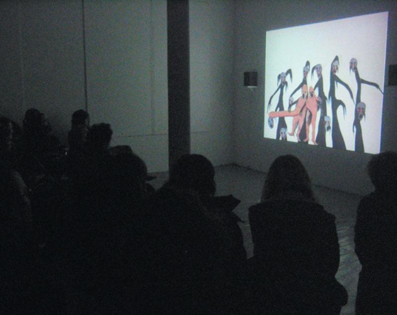 The Open Eye Club screening a film by Sigga Bjorg, 2006