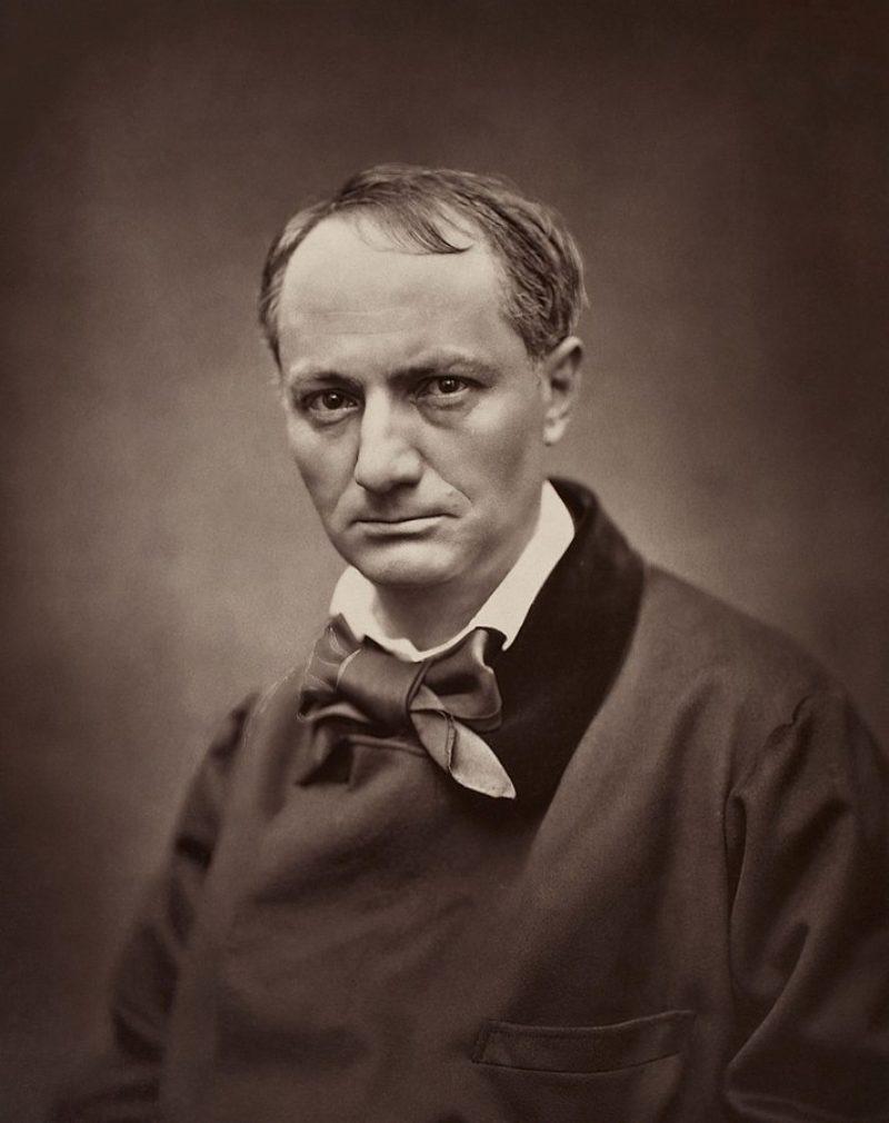 713px Étienne Carjat Portrait of Charles Baudelaire circa 1862