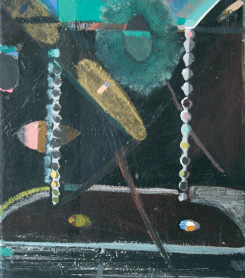 No Title, 1984-2008, acrylic on canvas