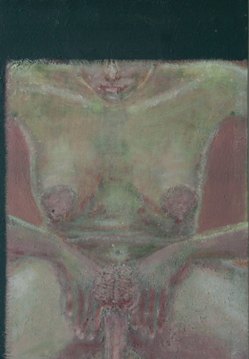 Untitled, c.2003-6, acrylic on canvas