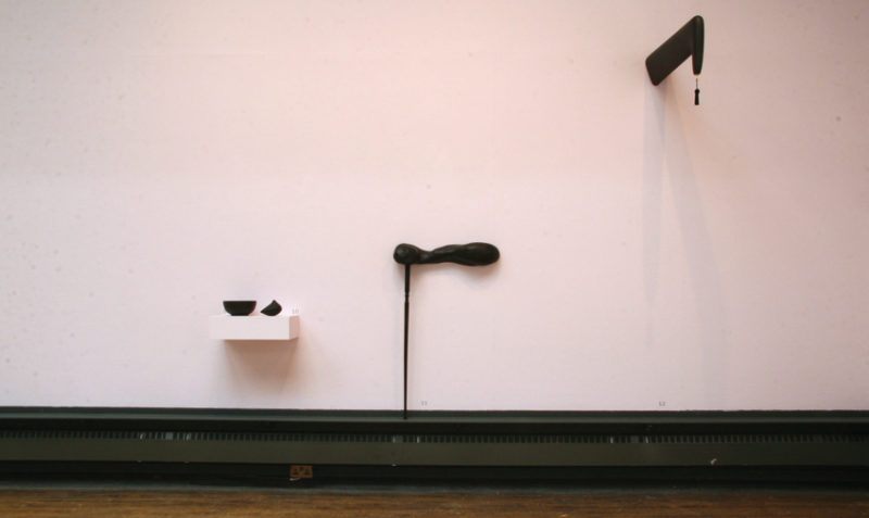 Andreas Ruhwald, 'Interior #9', 2008, installation view, Our Objects, Glasgow School of Art, 2009