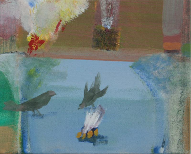 'Birds', 2008, acrylic on canvas