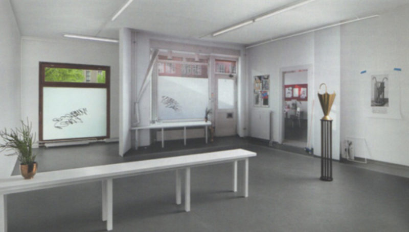 Kathrin Sonntag, 'Double Take', 2011, installation view Galerie Kamm