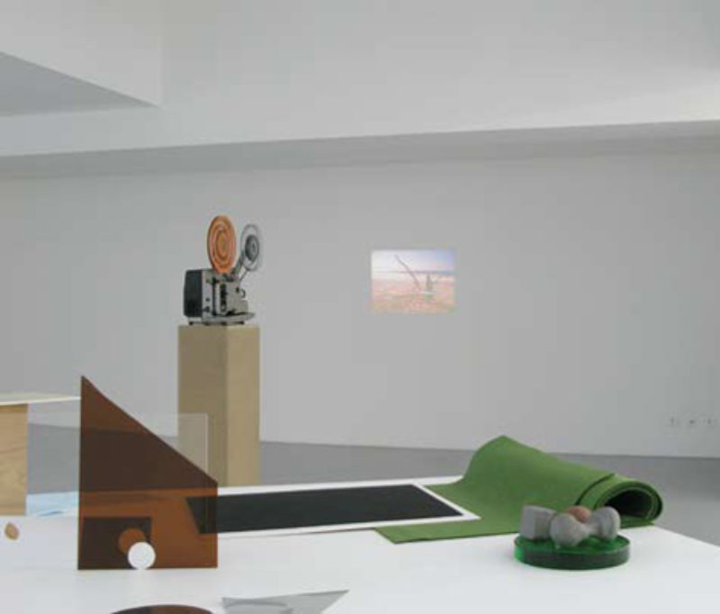 Benoit Maire and Falke Pisano, 'Organon and The Wave', 2009, installation view Graz Kunstverein