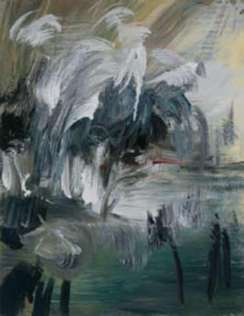 Katy Moran, 'Lazy Wears Blue', 2007, acrylic on canvas