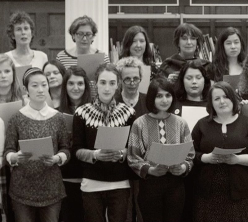 A  Feminist  Chorus  Image