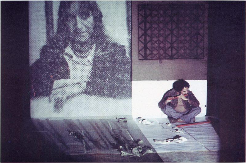Araeen Paki Bastard Portrait Of The Artist As A Black Person 1977