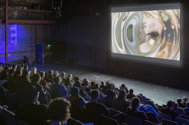 Artists Moving Image Festival 2015 LUX Scotland and Tramway Glasgow Photo by Matthew Arthur Williams