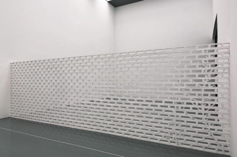 Blind  Wall Behind