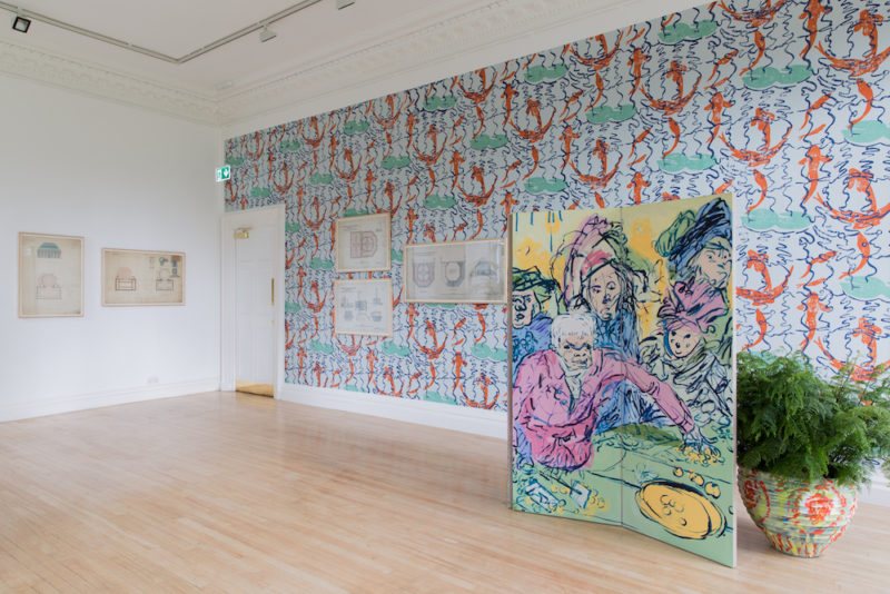 Charlie  Billingham  Plant  Scenery Of The  World    Inverleith  House   2017  Lrc