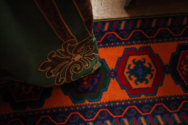 Detail Carpet Curtain