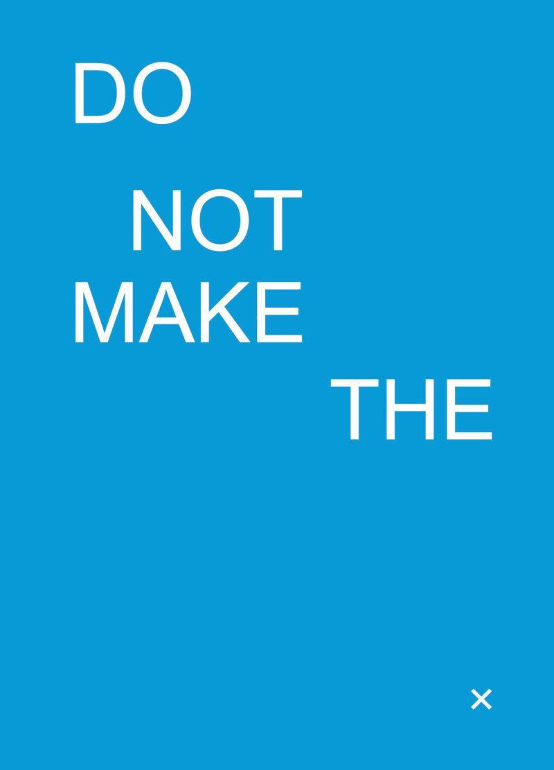 Do Not Make Cover Web 2