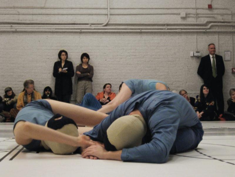 'Floyd on the floor', 2007, performance. Courtesy the artist