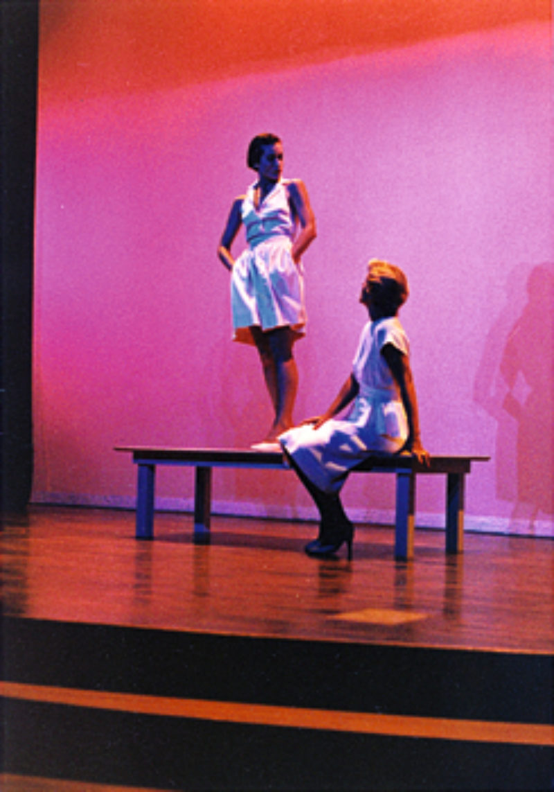 'Five Sisters', 1982, Barnsdall Park Theatre, Los Angeles/Straub Theatre, Loyola Marymount University, Los Angeles. Courtesy Air de Paris