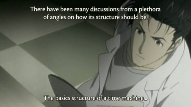 Still from 'Steins; Gate' [available at www.crymore.net]