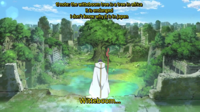 Still from 'Log Horizon', episode 1 [Available at fansub.co]