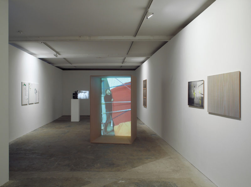 Installation view, Vilma Gold