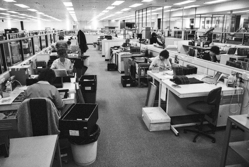 Hewlett Packard office, Edinburgh, 'To Let You Understand', 1988, Franki Raffles