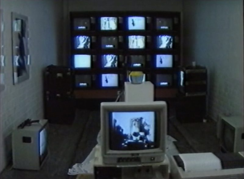 Still from Duncan of Jordanstone College of Art Video Production Board Glasgow Event Space 1986 Courtesy of Malcolm Dickson