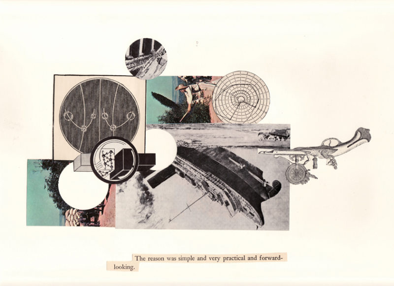 'The reason is simple', from The Arlington Heights Suite, collage, 2008