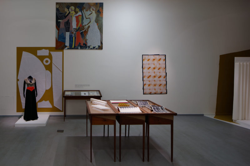 Exhibition view. Left to right
