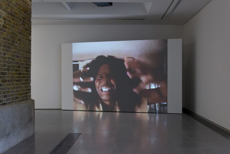 Arthur Jafa, Installation view 'A Series of Utterly Improbable, Yet Extraordinary Renditions', Serpentine Sackler Gallery, London (08 June 2017 10 September 2017). Image Mike Din