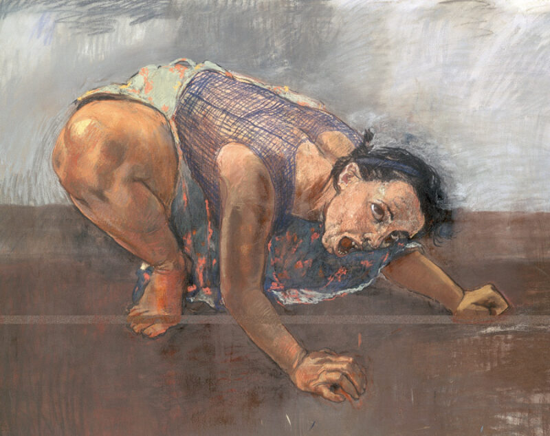 Dog woman 1994