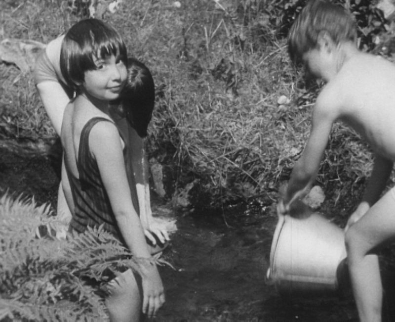 Margaret Tait, Splashing, 1966, UK, 16mm, B&W, sound, 4 mins. Courtesy of the Estate of Margaret Tait and National Library of Scotland Moving Image Archive