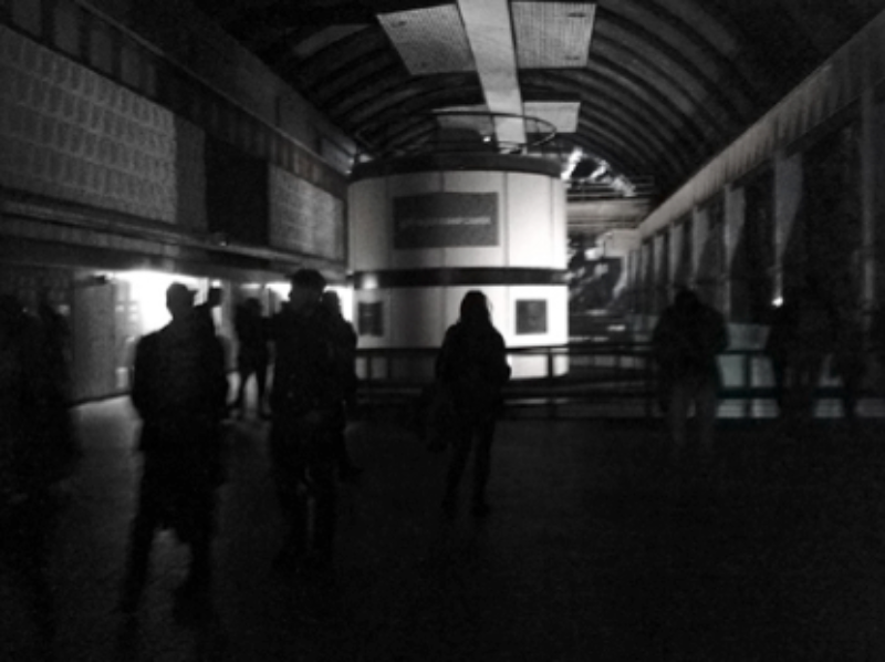 Master Rock audience members in the turbine hall of Cruachan power station. Photo credit Olivier Pasquet